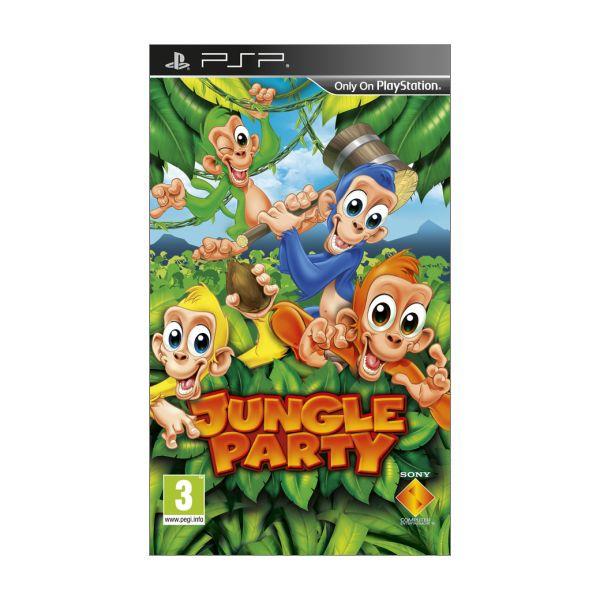Jungle Party [PSP] - BAZÁR (použitý tovar)