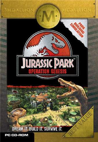 Jurassic Park: Operation Genesis (Medallion)