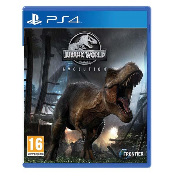 Jurassic World Evolution [PS4] - BAZÁR (použitý tovar)
