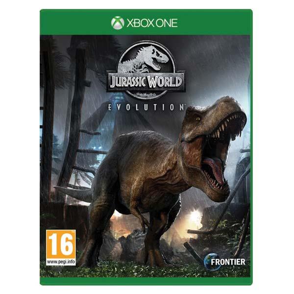 Jurassic World Evolution [XBOX ONE] - BAZÁR (použitý tovar)