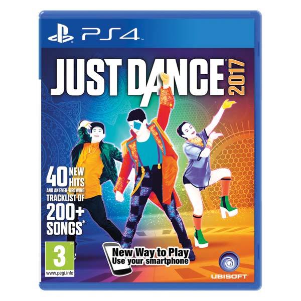Just Dance 2017 [PS4] - BAZÁR (použitý tovar)