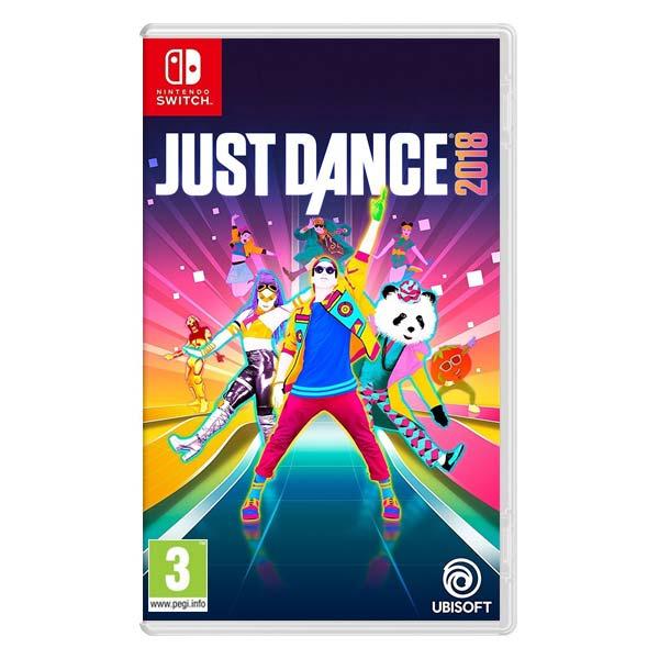 Just Dance 2018 [NSW] - BAZÁR (použitý tovar)