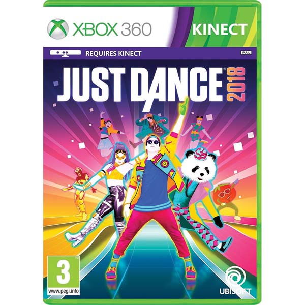 Just Dance 2018 [ISO/PAL-NTSC J] Complex Xbox 360