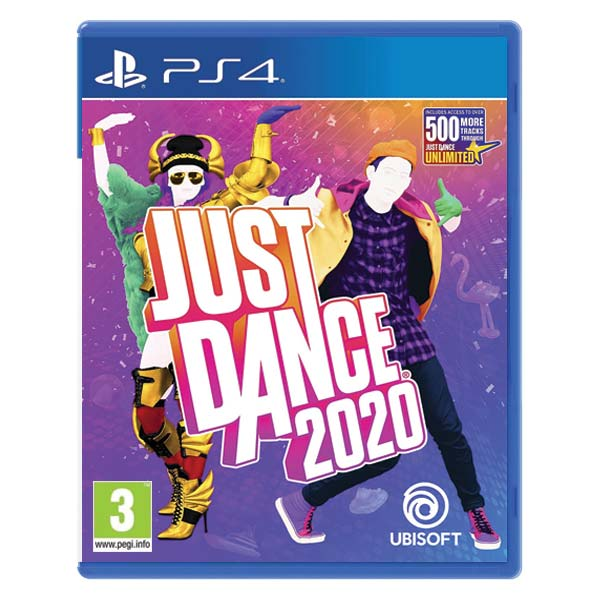 Just Dance 2020 [PS4] - BAZÁR (použitý tovar)