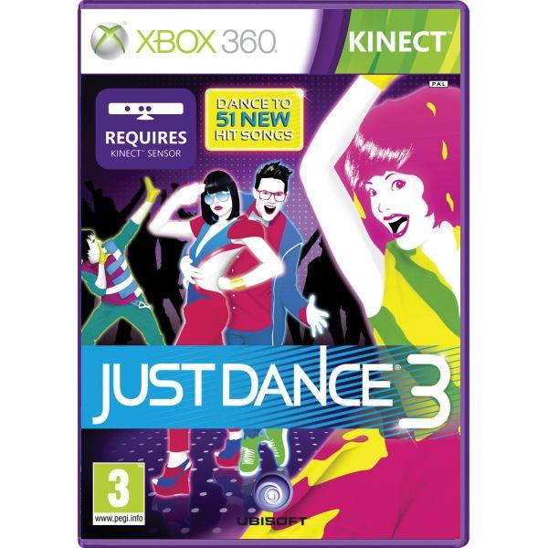 Just Dance 3- XBOX 360- BAZÁR (použitý tovar)
