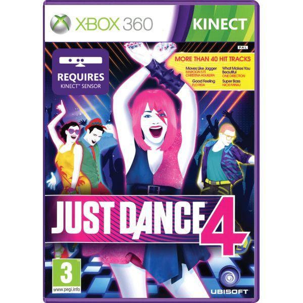 Just Dance 4 [XBOX 360] - BAZÁR (použitý tovar)