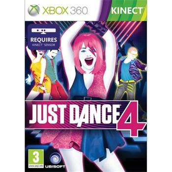 Just Dance 4 [XBOX 360] - BAZ�R (pou�it� tovar)