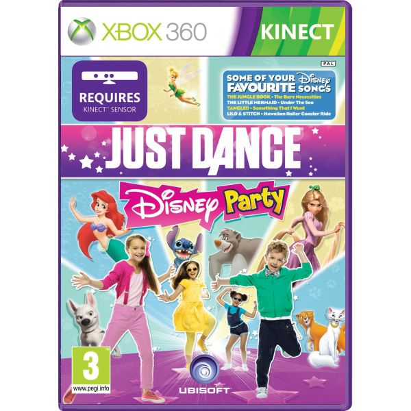 Just Dance: Disney Party [XBOX 360] - BAZ�R (pou�it� tovar)