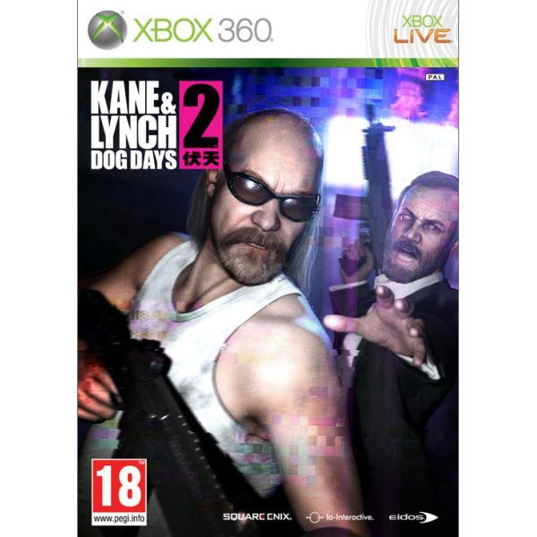 Kane & Lynch 2: Dog Days [XBOX 360] - BAZÁR (použitý tovar)