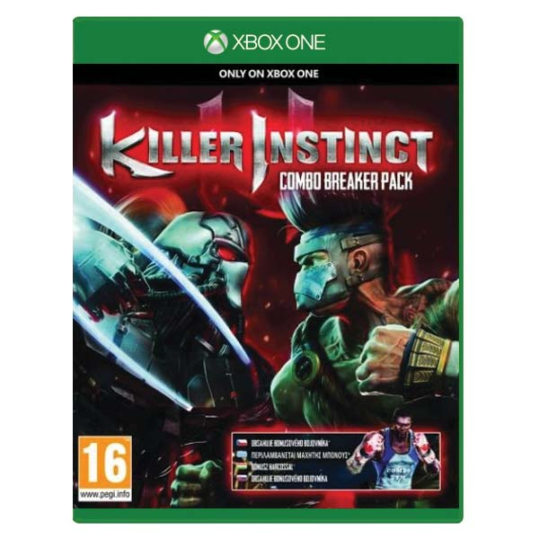 Killer Instinct (Combo Breaker Pack) [XBOX ONE] - BAZÁR (použitý tovar)