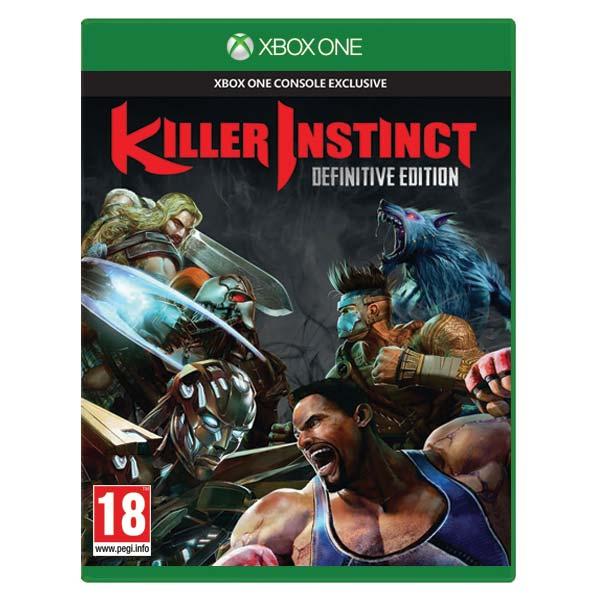 Killer Instinct (Definitive Edition) [XBOX ONE] - BAZÁR (použitý tovar)