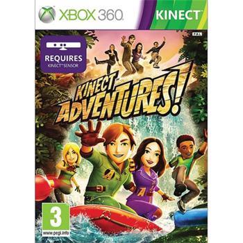 Kinect Adventures!- XBOX 360 - BAZÁR (použitý tovar)