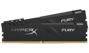 Kingston 16GB DDR4-3200MHz CL16 HyperX Fury RGB, (2x8GB kit) HX432C16FB3K2/16