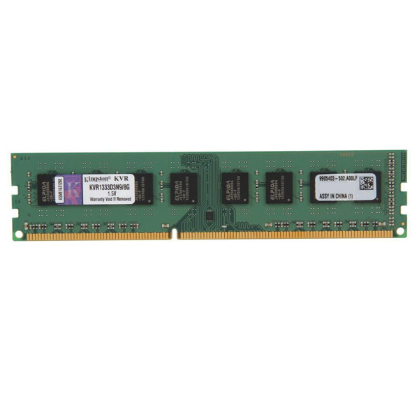 Kingston 8GB DDR3-1333 MHz CL9 KVR1333D3N9/8G