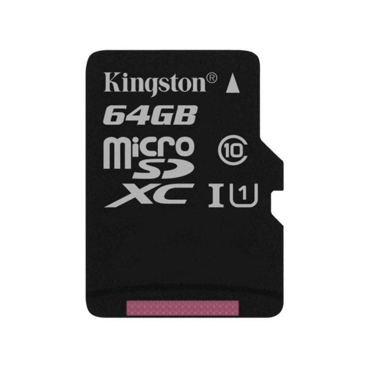 Kingston Micro SDXC 64GB, UHS-I, Class 10 - rýchlosť 45 MB/s (SDC10G2/64GBSP)