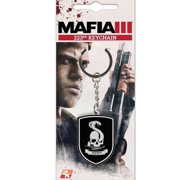 Kľúčenka Mafia 3 - 223rd