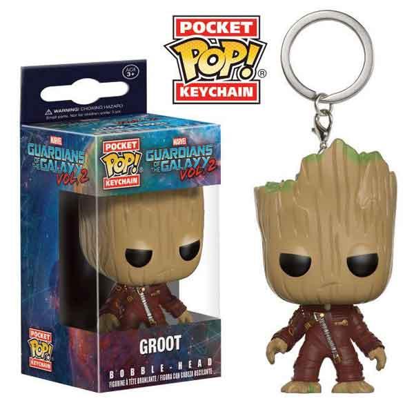 Kľúčenka Pocket POP! Guardians of the Galaxy 2 - Groot 6f5afb12baa