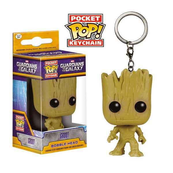 Kľúčenka Pocket POP! Guardians of the Galaxy - Groot 2be2c77a2df