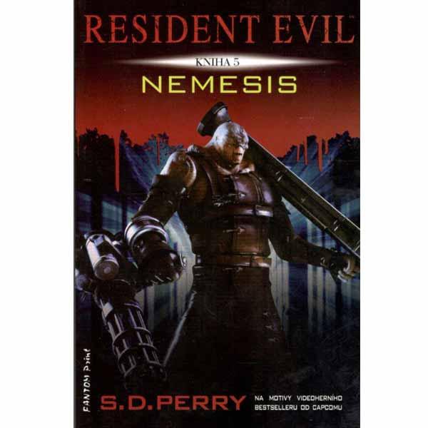 Kniha Resident Evil: Nemesis