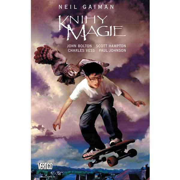 Knihy magie komiks
