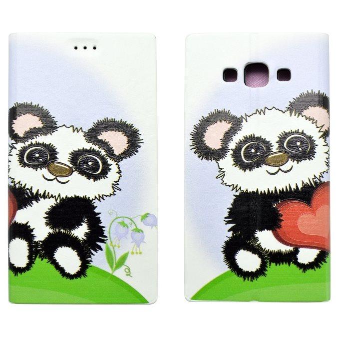 Knižkové puzdro pre Samsung Galaxy A5 - A500F, vzor Panda
