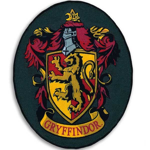 Koberec Gryfindor Shield (Harry Potter)