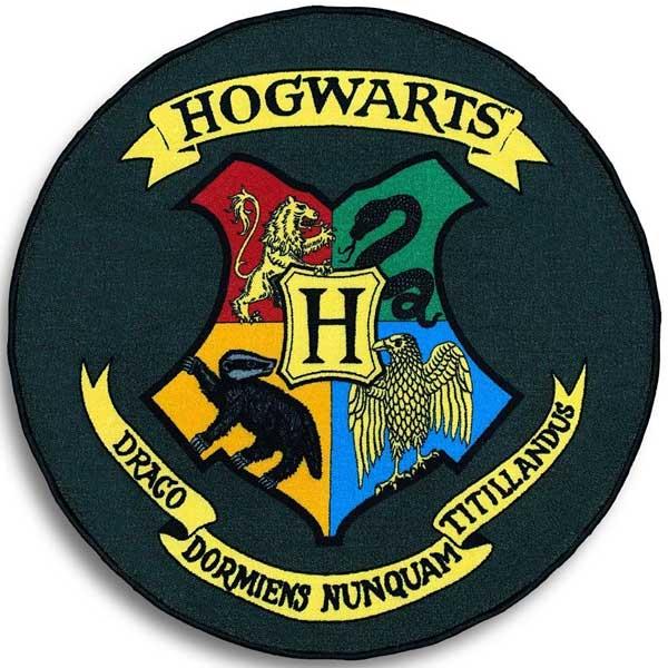 Koberec Hogwarts Shield (Harry Potter)