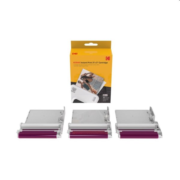 "Fotopapier Kodak Cartridge 3 x 3"" 30-pack"