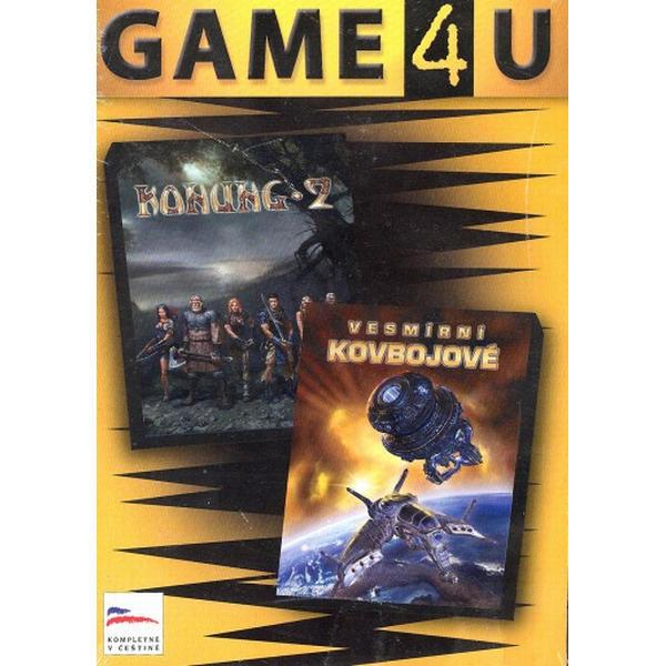 Konung 2 + Vesmírni kovboji CZ (Game4U)