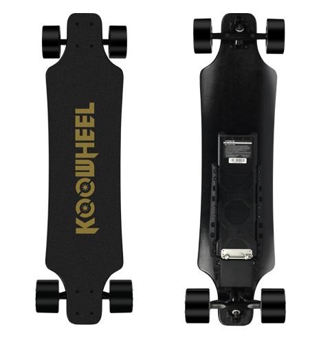 Koowheel Kooboard D3M v2 elektrický skateboard s 4300 mah batériou
