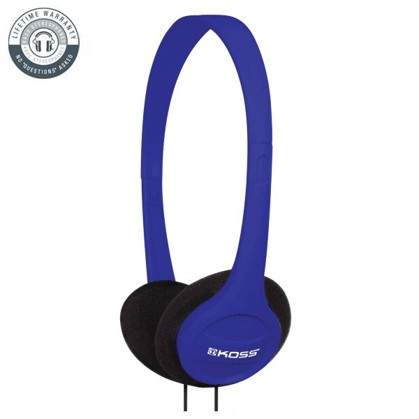 Koss KPH7 Colors On-Ear Headphones, blue
