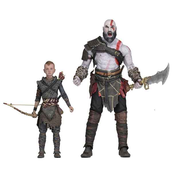 Kratos and Atreus (God of War 2018) Ultimate Action Figure 2-Pack