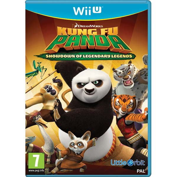 Kung Fu Panda: Showdown of Legendary Legends Wii U