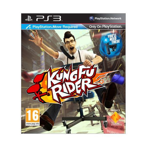 Kung Fu Rider [PS3] - BAZÁR (použitý tovar)