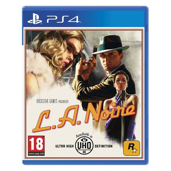 L.A. Noire [PS4] - BAZÁR (použitý tovar)
