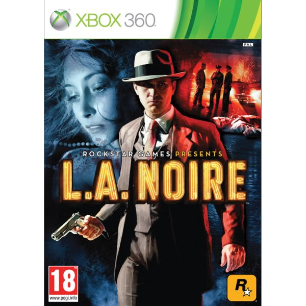 L.A. Noire [XBOX 360] - BAZÁR (použitý tovar)