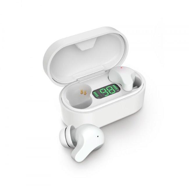 LAMAX Taps1, bezdrôtové slúchadlá, biele