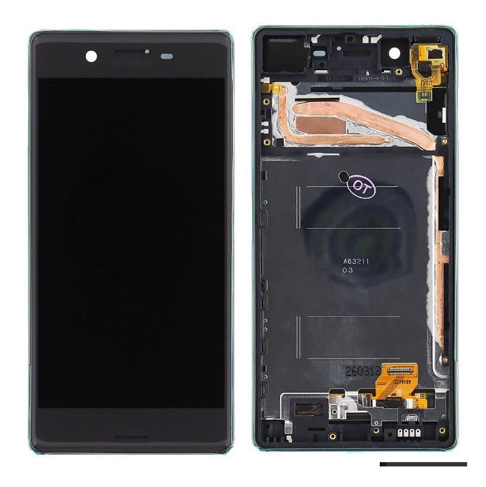 LCD displej + krycie sklo + dotyková plocha pre Sony Xperia X - F5121, Black