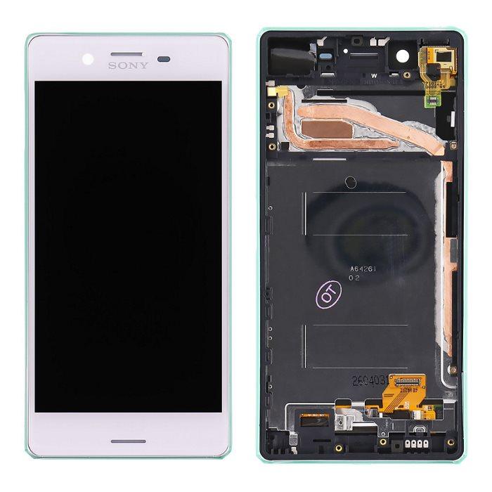 LCD displej + krycie sklo + dotyková plocha pre Sony Xperia X - F5121, White