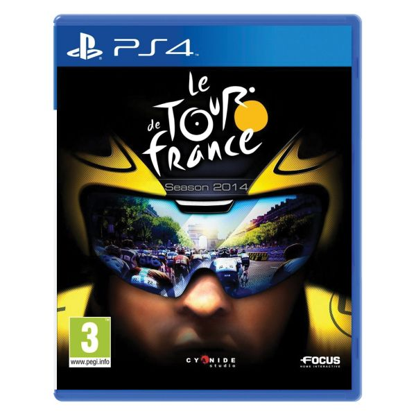 Le Tour de France: Season 2014 [PS4] - BAZÁR (použitý tovar)