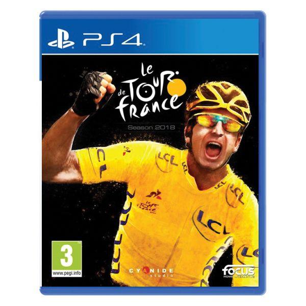 Le Tour de France: Season 2018 [PS4] - BAZÁR (použitý tovar)