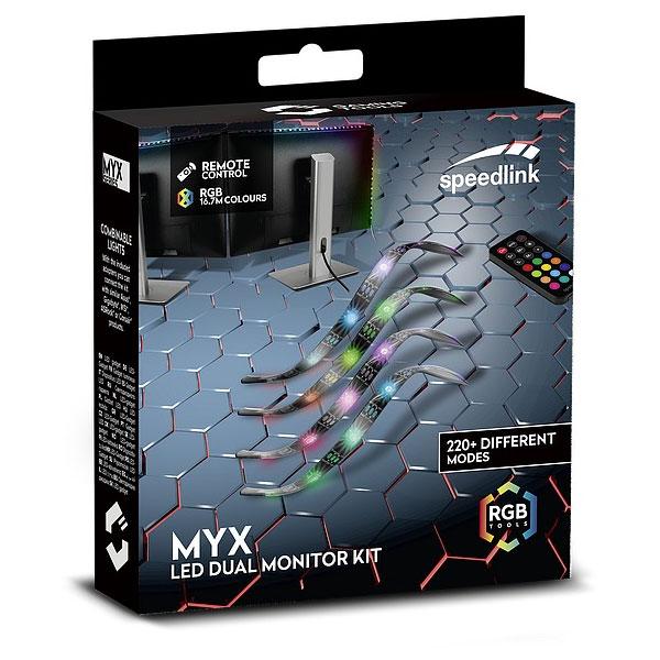 LED pásiky Speedlink Myx LED Dual Monitor Kit