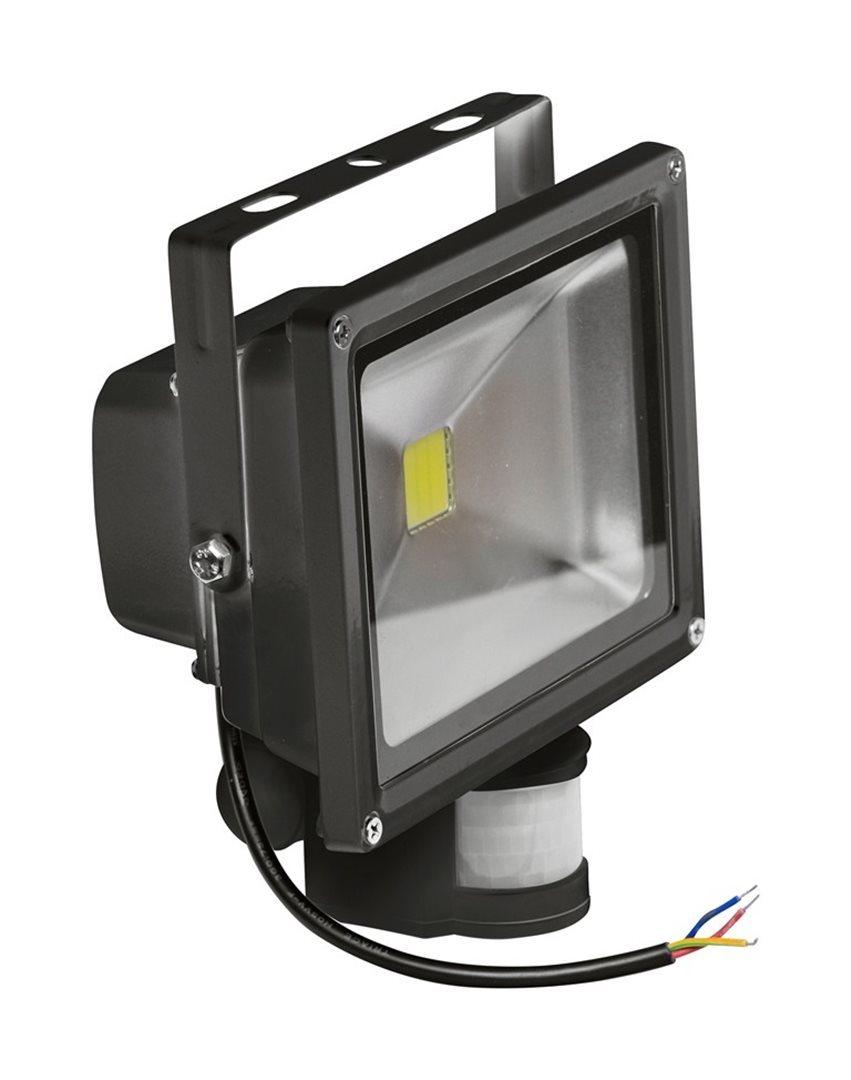 LED reflektor TB Energy - 50W - svietivosť 3 500 Lúmenov, detektor pohybu