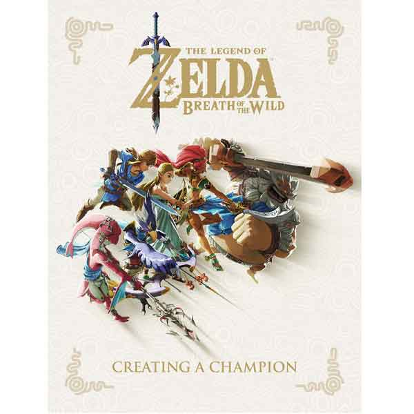 Legend of Zelda - Breath of the Wild Creating a Champion komiks