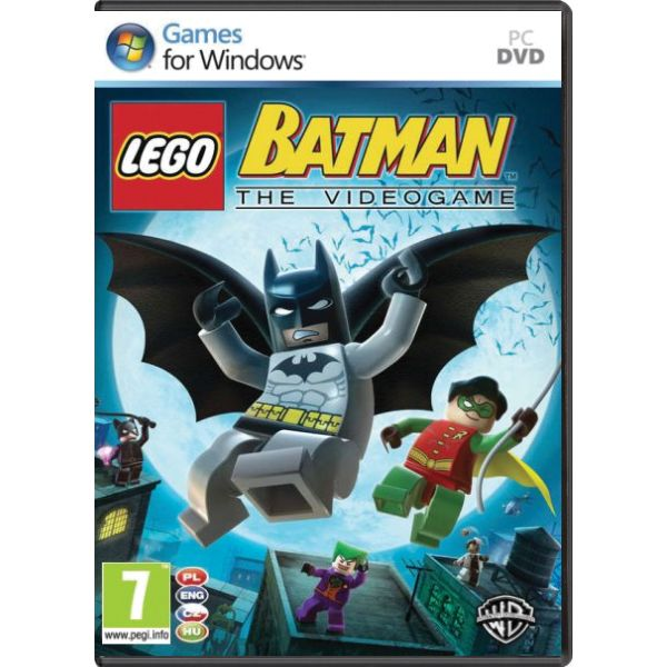 LEGO Batman: The Videogame CZ