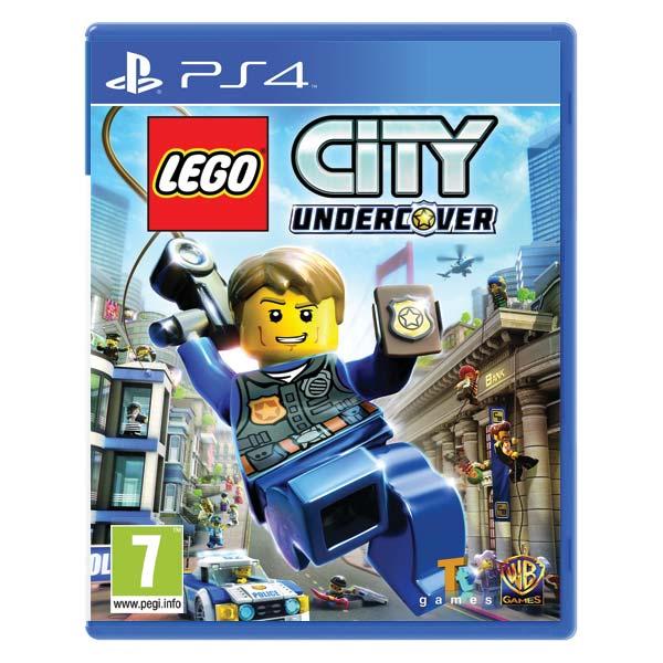 LEGO City Undercover [PS4] - BAZÁR (použitý tovar)