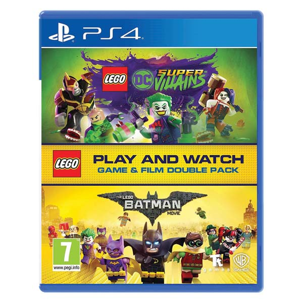 LEGO DC Super-Villains (Game and Film Double Pack) PS4