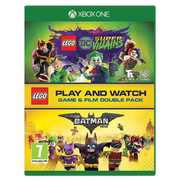 LEGO DC Super-Villains (Game and Film Double Pack) XBOX ONE