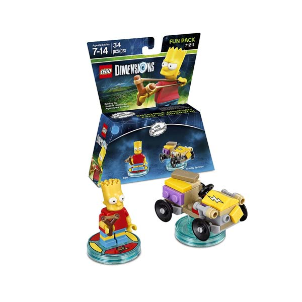 LEGO Dimensions Bart Fun Pack 71211