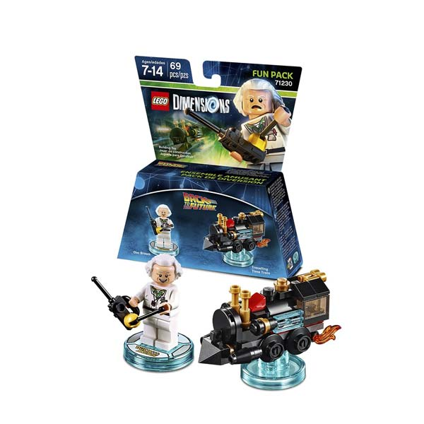 LEGO Dimensions Doc. Brown Fun Pack 71230
